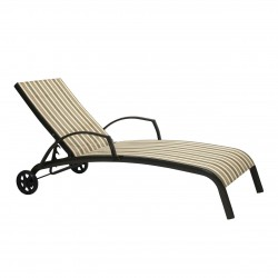 Лежак Garden4you Montreal-2, beige striped